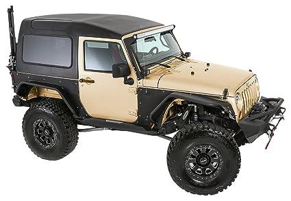 Smittybilt 517702 Black Safari Hard Top 07 17 Jk 2 Dr, 1 Pack