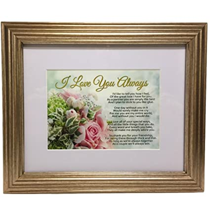Amazon.com: Romantic Gift for Wife, Husband, Girlfriend, Boyfriend ...