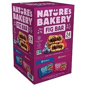 Nature's Bakery Fig bar Variety Pack (2 Ounce ., 24 Pk.) Net Wt 48 Ounce,, ()