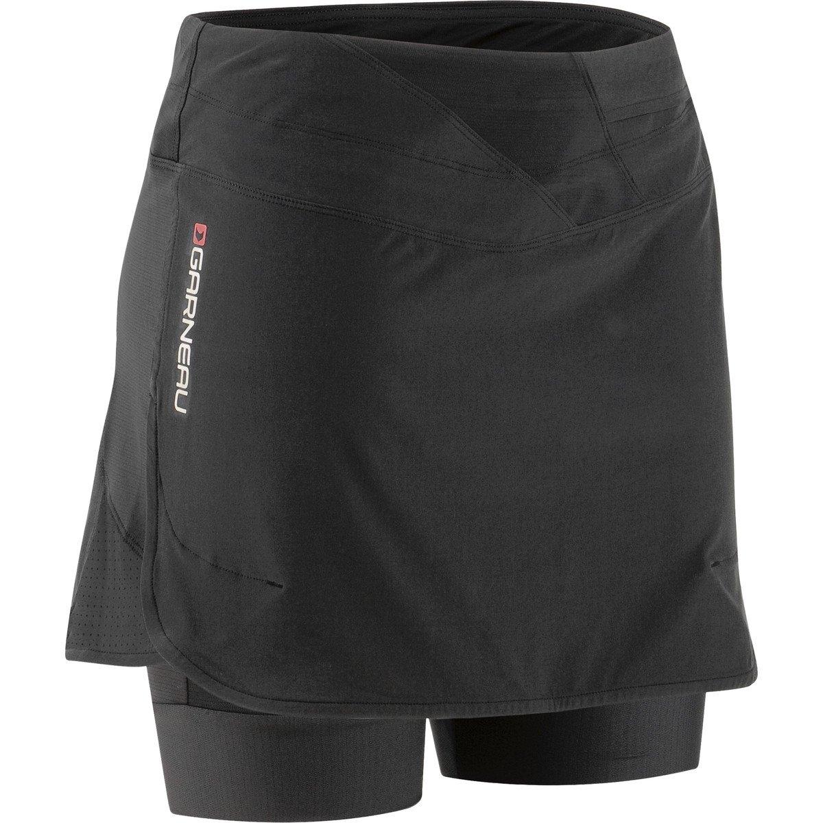 Louis Garneau Women's Rio Cycling Skort, Black, XX-Large by Louis Garneau