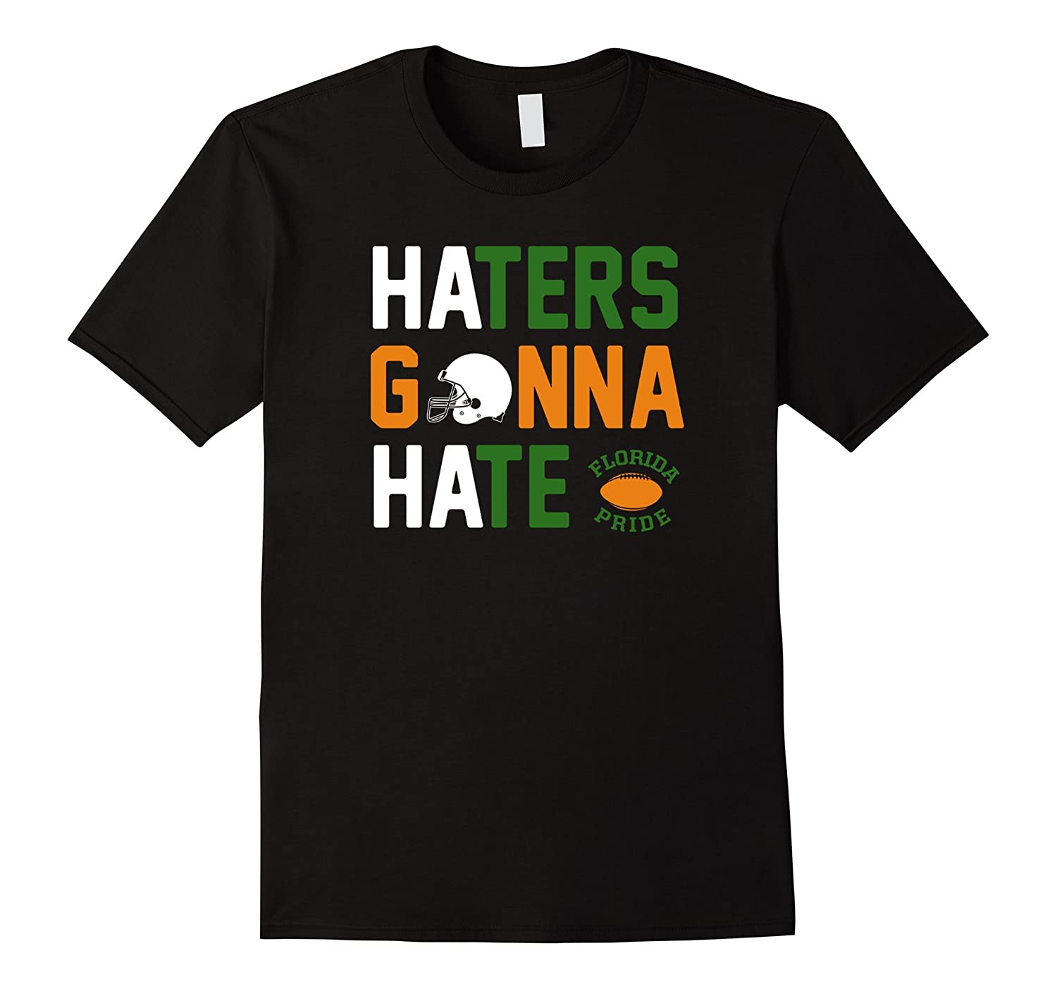 'Canes Pride, Haters Gonna Hate (College Football T-shirt)-BN