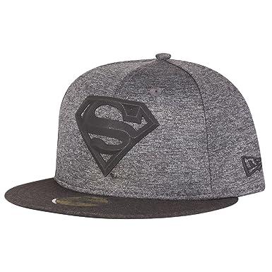 a4b5b252 New Era 59Fifty Cap - Concrete Jersey Superman - 7 5/8: Amazon.co.uk:  Clothing
