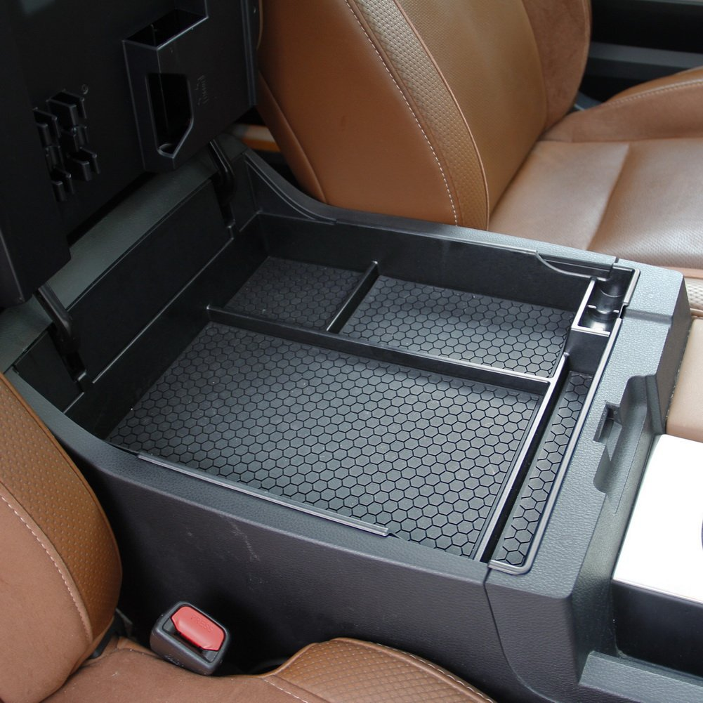 Center Console Organizer Insert Tray Armrest Storage for 2014 2015 2016 2017 2018 TOYOTA Tundra Miaoge
