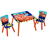 Disney Cars Kids Table and 2 Chair Set by HelloHome