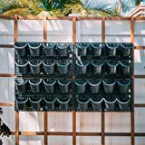 Pro System-Vertical Wall Planter- Watex Expandable Green Wall w/ Built-in Micro dripper 4 Panels, Total of 32 pots, US Patent
