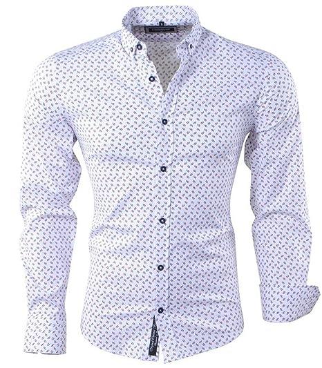 Carisma Chemise Fleurie Pour Homme Chemise 8408 Blanc Xxl Blanc