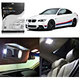 Partsam LED Interior Light Package Replacement Lights Kits fits for 2006-2011 BMW E90 E91
