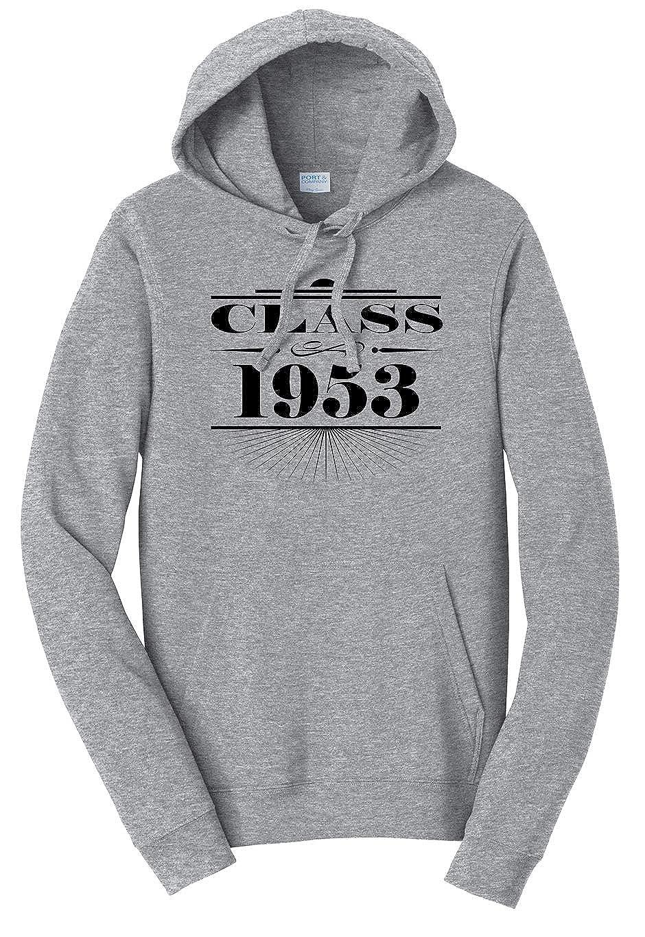 Tenacitee Unisex Art Deco Class of 1953 Sweatshirt