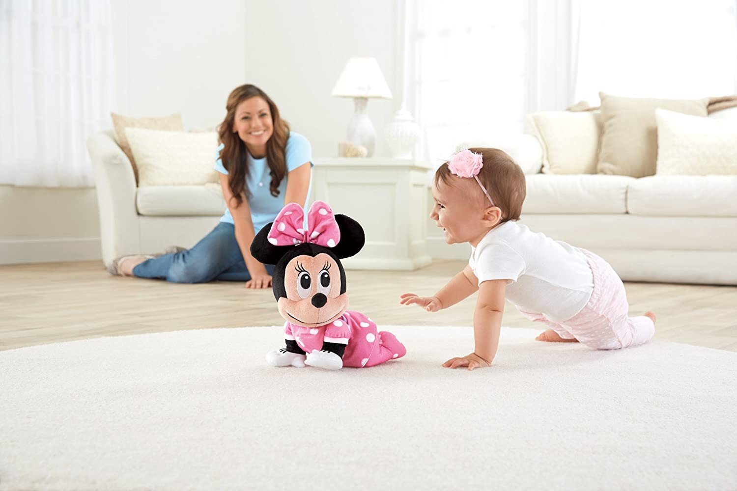 Fisher-Price Disney Baby Minnie Mouse Musical Touch n Crawl
