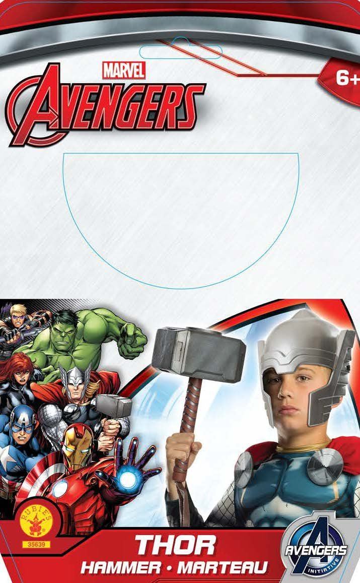 amazon com avengers assemble thor molded hammer toys games