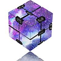 Infinity Cube Fidget Toy for Adults and Kids, Fidget Finger Toy Stress and Anxiety Relief, Killing Time Unique Idea Cool…