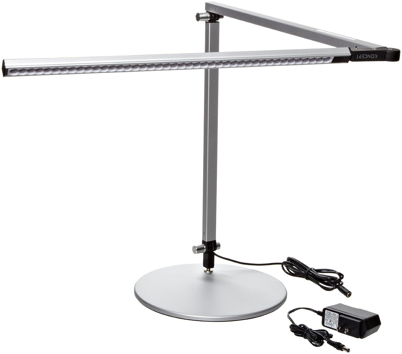 Koncept AR3000-W-SIL-DSK Z-Bar LED Desk L& Warm Light Silver Contemporary Desk Amazon.com Industrial u0026 Scientific  sc 1 st  Amazon.com & Koncept AR3000-W-SIL-DSK Z-Bar LED Desk Lamp Warm Light Silver ...
