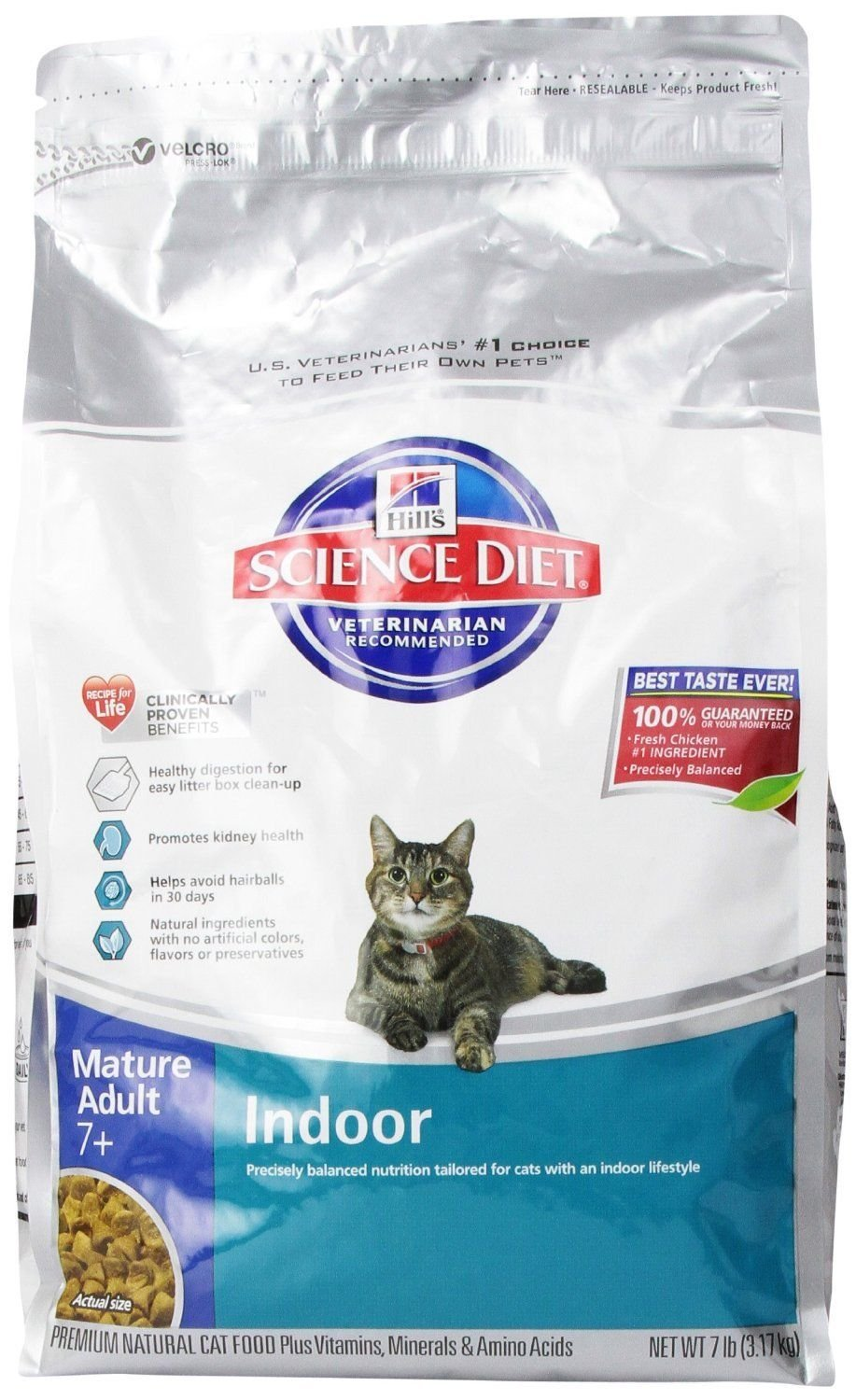 Amazon Hill s Science Diet Mature Adult Indoor Dry Cat Food