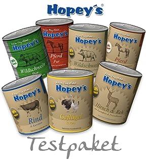 hopey s prueba del paquete para perros, Premium húmedo Forro 7 x 850 g