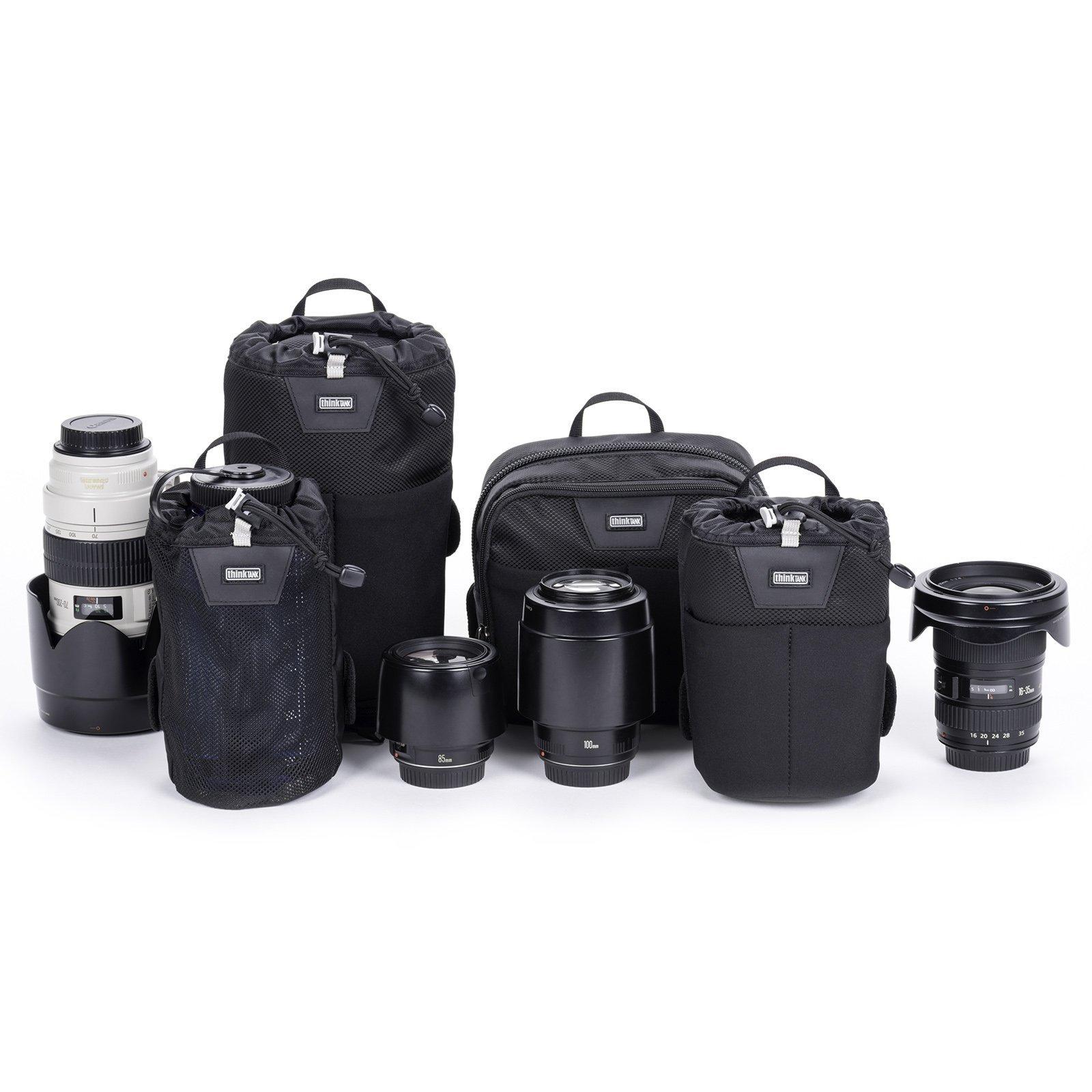 Think Tank Photo Modular Essentials Set Belt System V3.0 Waist Packs (Black) by Think Tank