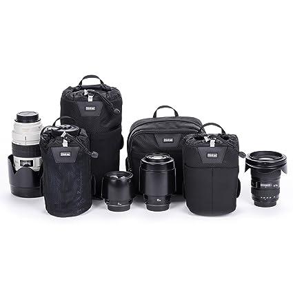 9308bea86d8 Amazon.com : Think Tank Photo Modular Essentials Set Belt System V3.0 Waist  Packs (Black) : Electronics
