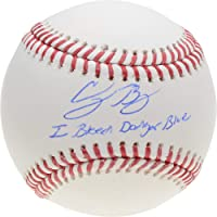 "$159 » Cody Bellinger Los Angeles Dodgers Autographed Baseball with""I Bleed Dodger Blue"" Inscription - Fanatics Authentic Certified"