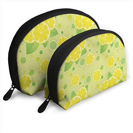 653f94cc4906 Amazon.com: DHSJWIEU23 Lemon Lime Pattern in Retro Vintage Portable ...