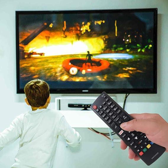 EAESE AKB75095308 Reemplazo Mando a Distancia para LG LCD LED Smart TV 32LJ610V 43UJ634V 49UJ634V 55UJ634V 65UJ634V 43UJ6309 49UJ6309 60UJ6309 65UJ6309 43LJ614V 55UJ6307 60UJ6307 55UJ630V 49UJ630V: Amazon.es: Electrónica