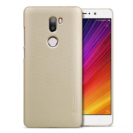 Funda Xiaomi 5S Plus,Grandcaser Delgado Back Hard Case Cover Carcasa Protectora Anti-Choques Bumper Para Xiaomi Mi 5S Plus (2016) - Oro