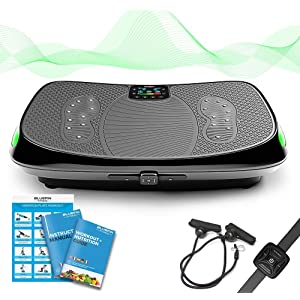 Amazon.com : Bluefin Fitness Dual Motor 3D Vibration Platform ...