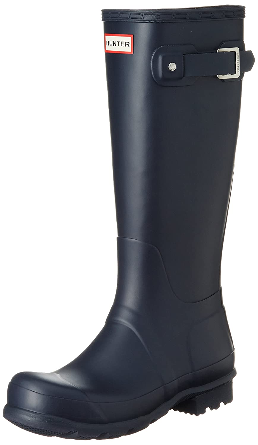 Hunter Rubber Men's Original Tall Knee-High Rubber Hunter Rain Boot B00JLED1O8 7 D(M) US|Navy 66c594