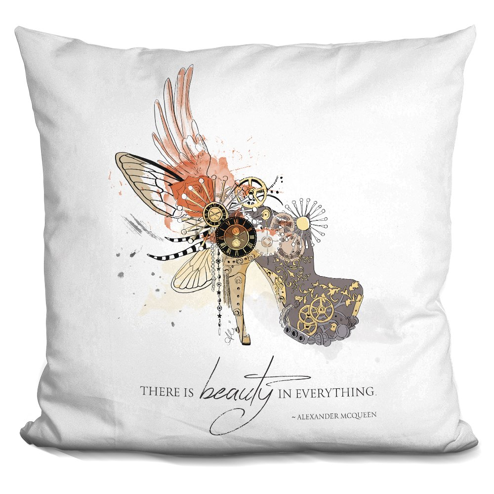LiLiPi Reflection Decorative Accent Throw Pillow