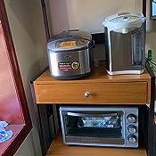 Amazon.com: WATERJOY - Carro de almacenamiento para horno de ...