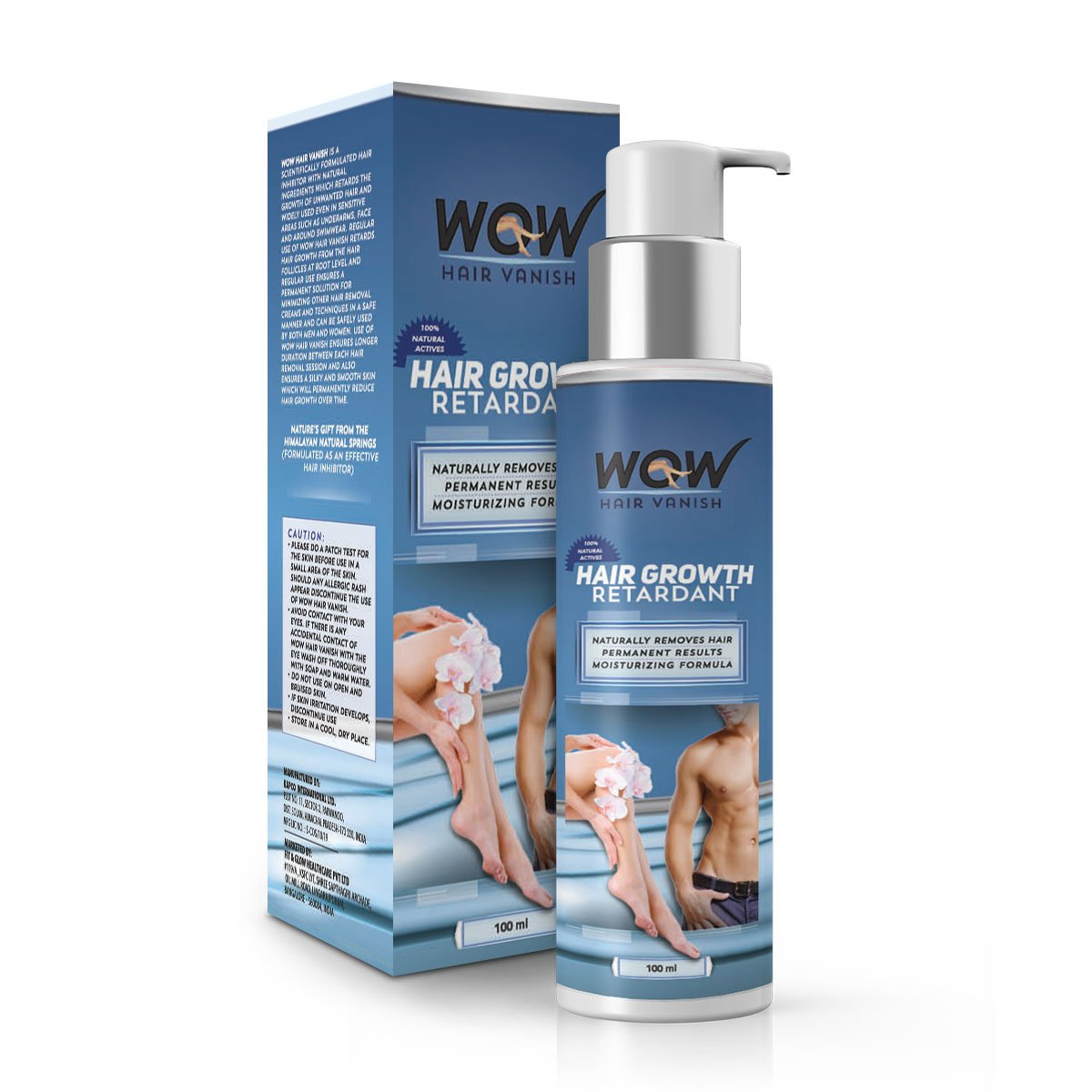 Buy Wow Hair Vanish Pack Of 3 Online At Low Prices In India Amazon