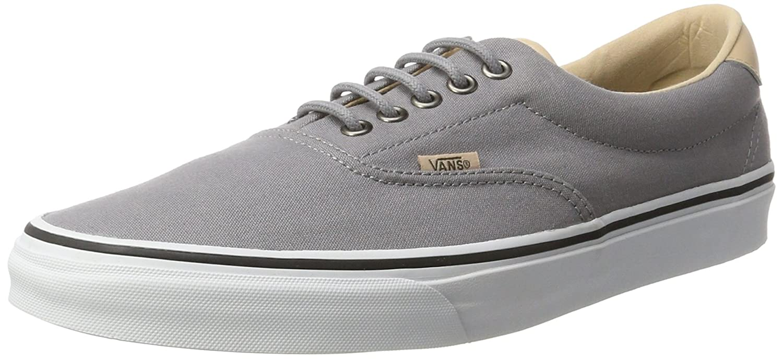 Vans Unisex Era 59 Skate Shoes B01I262AVK 9.5 M US Women / 8 M US Men|Frost Gray/True White