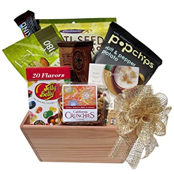 Amazon great gifts baskets california gold gluten free great gifts baskets california gold gluten free vegetarian sweet and savory snacks negle Images