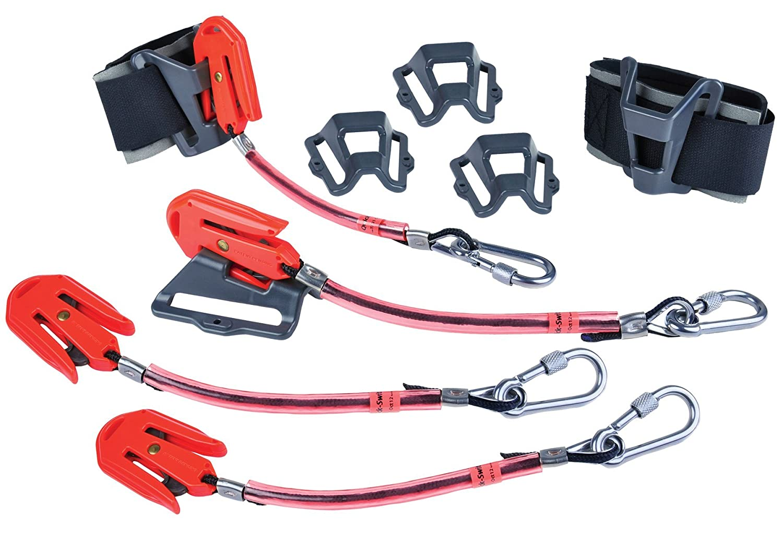 Stanley Proto SkyHook JPSSCAFF4 4 Tool Kit with 4 SkyHooks and 2 SkyDock Wrist Straps 4 SkyDocks