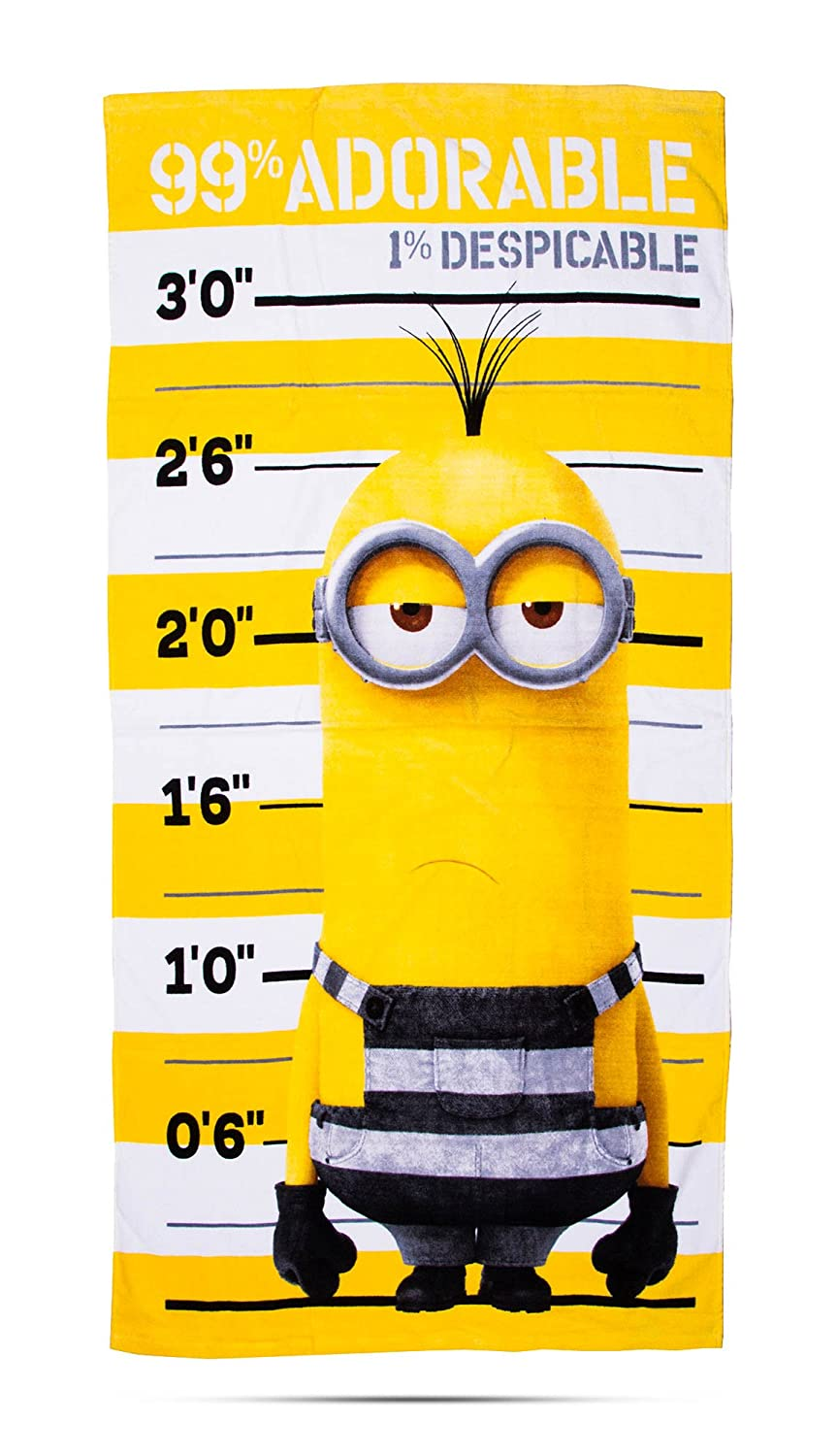 Despicable Me 'Jailbird' Kids Towel Character World UDMJBDTW001UK