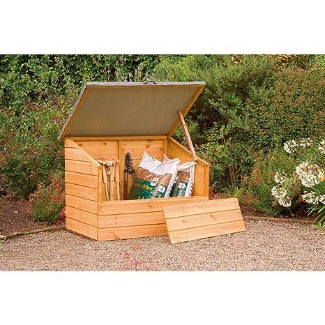 Bosque gc1phd DIP tratada cobertizo jardín almacenamiento Pecho – Otoño dorado