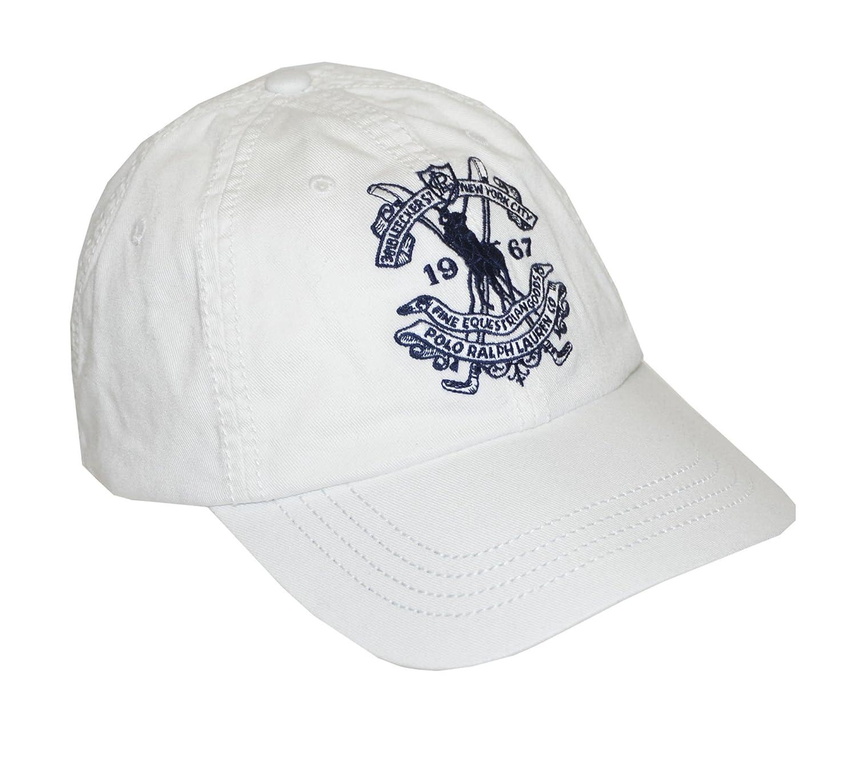 f5a80231 White Polo Baseball Cap - Parchment'N'Lead