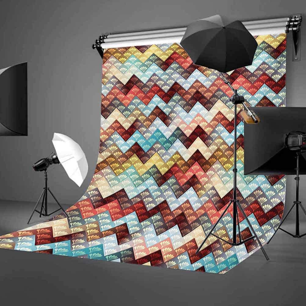 8x10 FT Photo Backdrops,Various Symbols of Nature Large Bengal Cat Bald Eagle Butterfly on Vibrant Backdrop Background for Kid Baby Boy Girl Artistic Portrait Photo Shoot Studio Props Video Drape