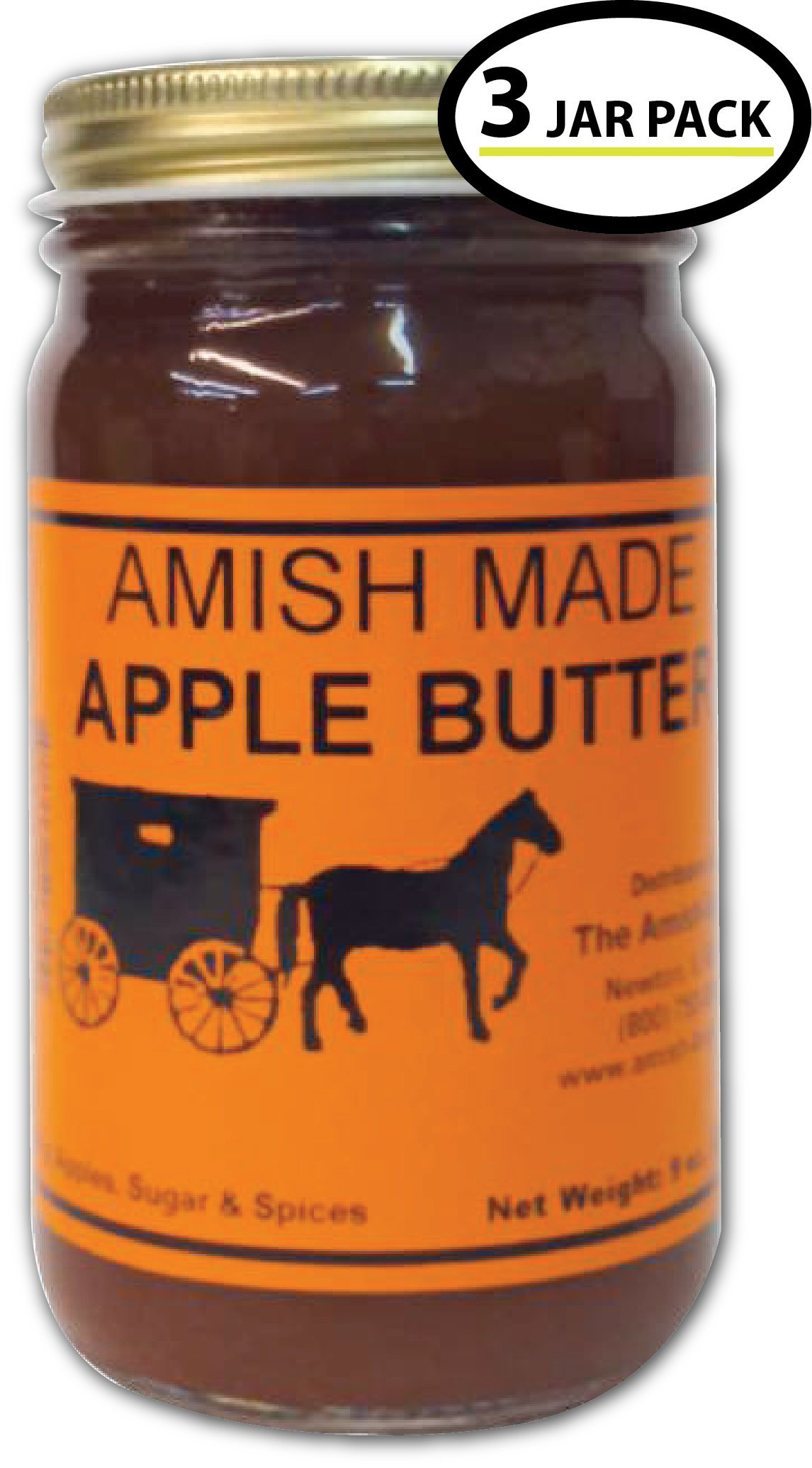 Apple Butter - 8 Oz Jar - Qty 3