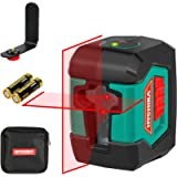Laser Level, HYCHIKA 50 Feet Cross Line Laser with Dual Modules, Switchable Self-Leveling Vertical and Horizontal Line…
