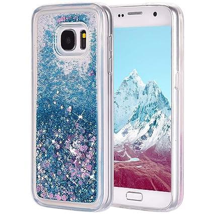 Funda Galaxy S7 Silicona, Galaxy S7 Carcasa Purpurina, Bling ...