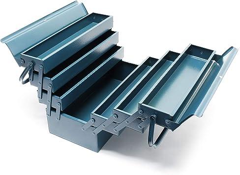 Caja de herramientas 530 x 200 x 250 mm Acero Con 7 compartimentos ...