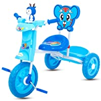 GoodLuck Baybee - Children Plug and Play Kids Tricycle Trike with Musical Toy Kid's for 1-3 Years Baby Tricycle Ride on Outdoor   Suitable Babies for Boys & Girls - (Blue)