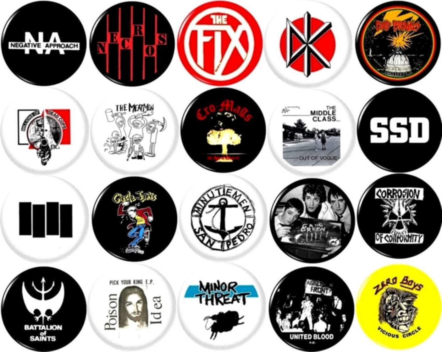Badge Pin Button Venom Black Metal 38 mm