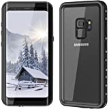 Samsung Galaxy S9 Waterproof Case YMCCOOL Full Sealed Protective Case Cover Support Wireless Charging Dirtproof/Snowproof/Shockproof/Waterproof Case for Samsung Galaxy S9 5.8 Inches