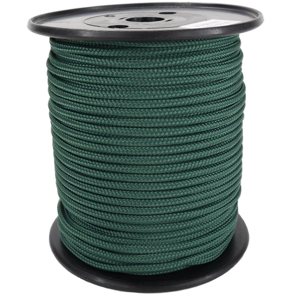 PP Seil Polypropylenseil SH 10mm 100m Farbe Tannengrün (2564) Geflochten