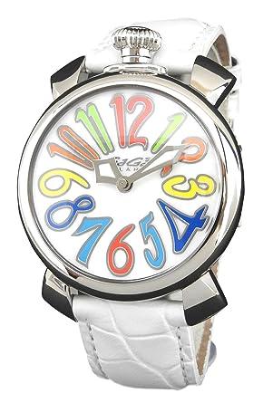 new product 07b62 4786c Amazon | GAGA MILANO 5020.1 MANUALE 40MM ガガミラノ 腕時計 ...