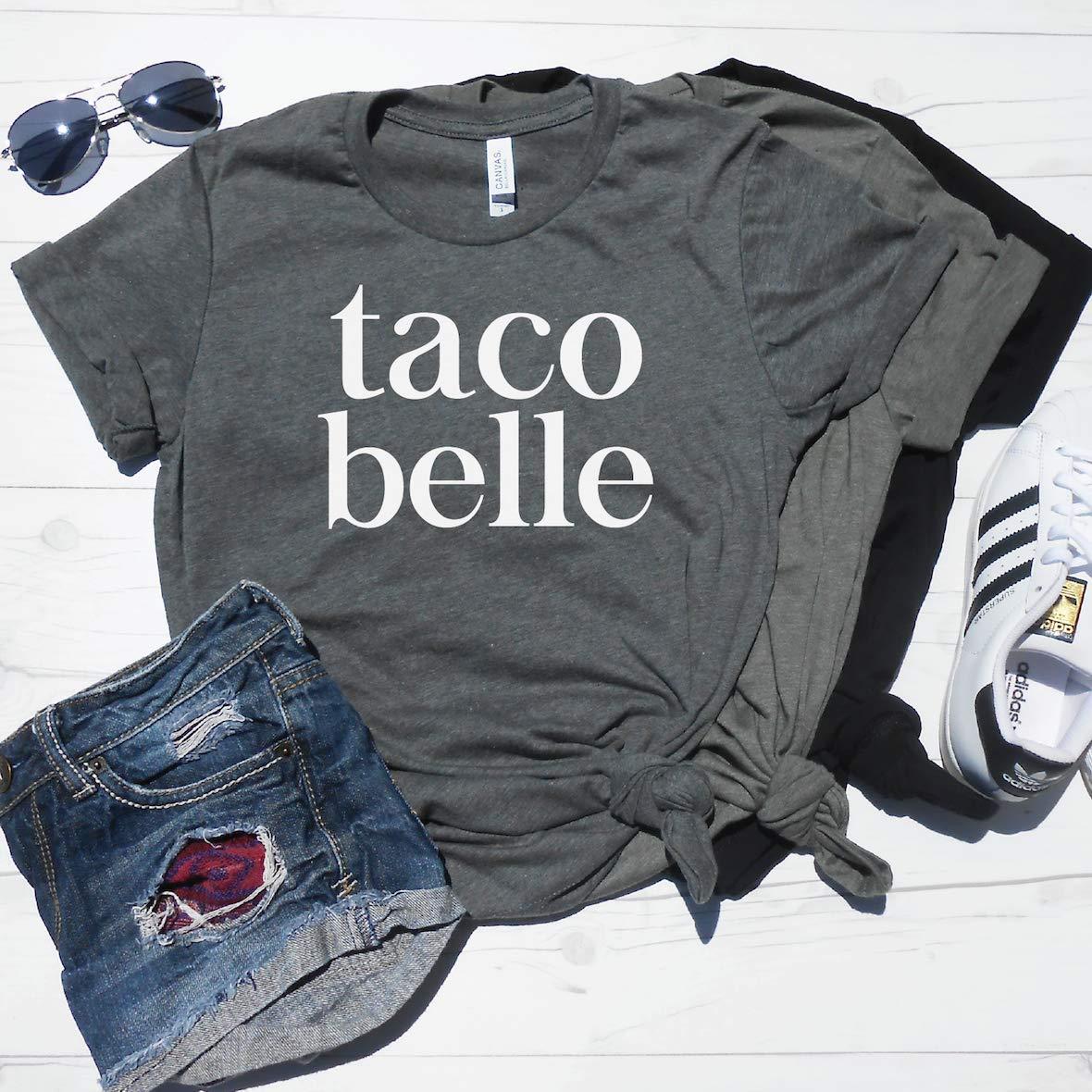 Amazon Taco Belle Shirt Cute Taco Shirt Funny Taco T Shirt