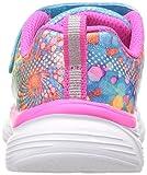 Skechers Kids Girls' Wavy Lites Sneaker, Multi, 2 M