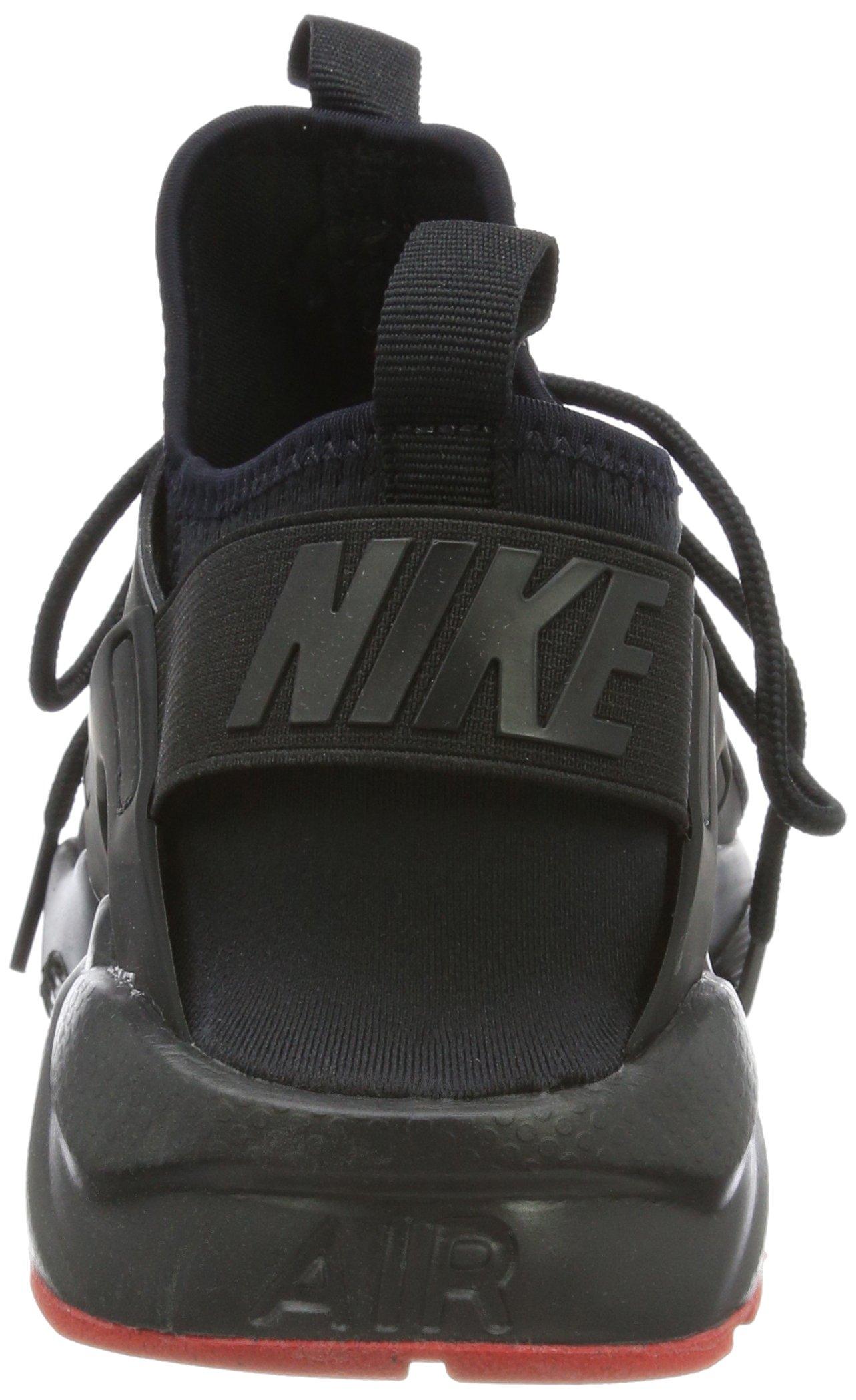 Nike Air Huarache Run Ultra Black/Metallic Silver (11 D(M) US) by NIKE (Image #2)