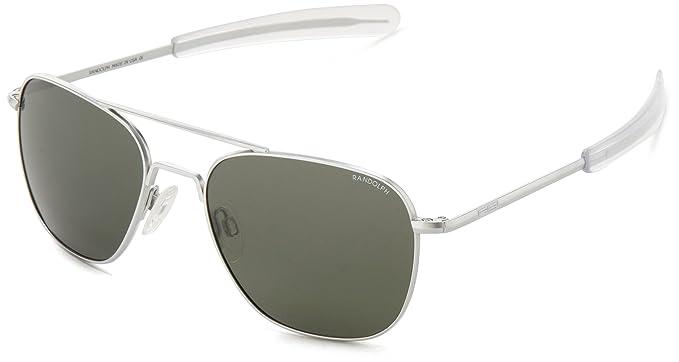 ba11435e11e Randolph Aviator Square Sunglasses