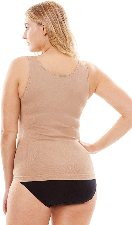 Secret Solutions Womens Plus Size Wear Your Own Bra Cami